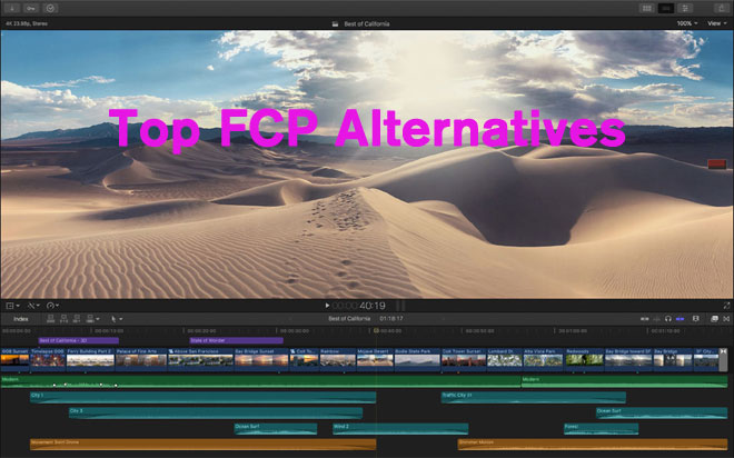 Final Cut Pro Alternatives: Top 8 Choices Free Download